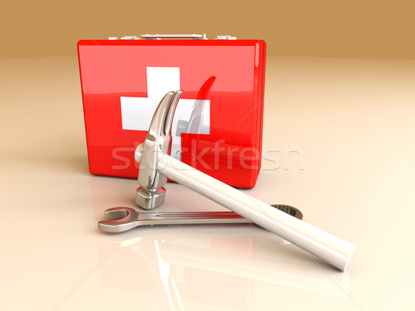 Construction First aid		 Stock photo © Spectral