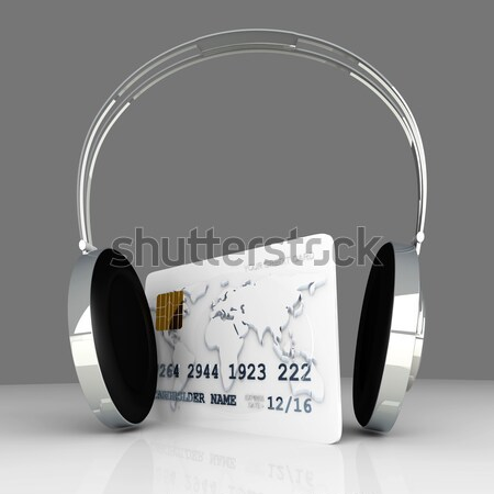 Audio Shopping Stock photo © Spectral