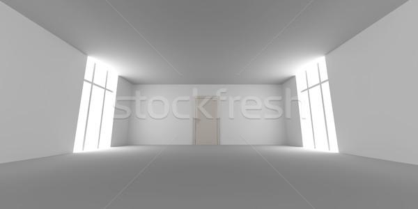 Door in a empty room Stock photo © Spectral