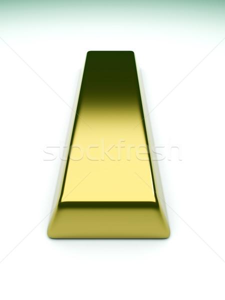 Aranyrúd 3D renderelt illusztráció üzlet háttér Stock fotó © Spectral