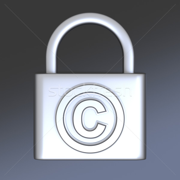 Stock photo: Copyright protection