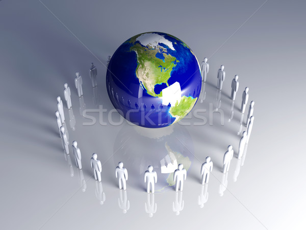 Global Team - Americas Stock photo © Spectral