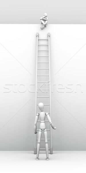 Sitting on the top Stock photo © Spectral