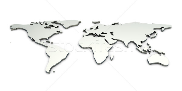 World map Stock photo © Spectral