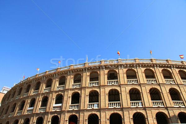 Arène Valence Espagne Europe bâtiment ville Photo stock © Spectral