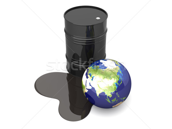 Oil disaster - Asia	 Stock photo © Spectral