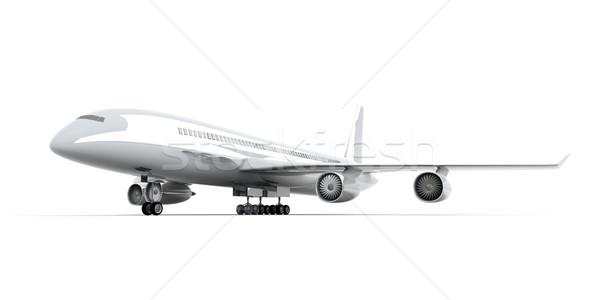 общий самолет 3D оказанный иллюстрация путешествия Сток-фото © Spectral