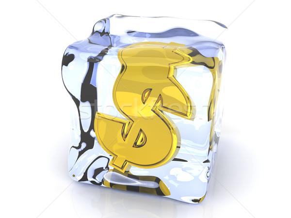 Frozen Dollar Stock photo © Spectral