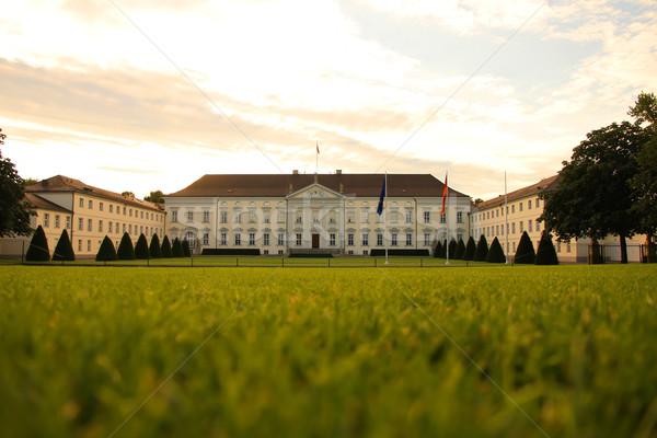 замок Берлин федеральный президент Германия Сток-фото © Spectral