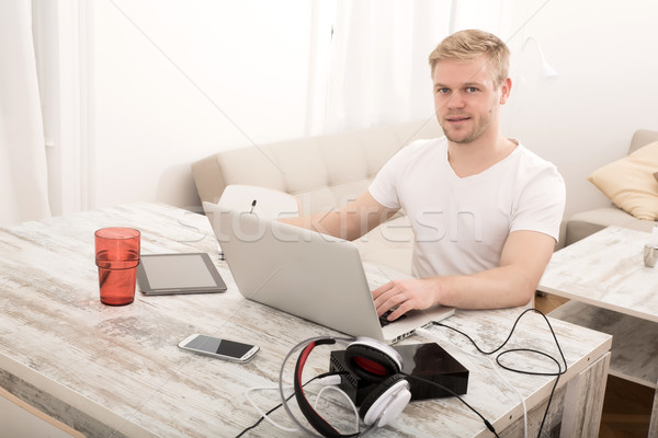 Working at home Stock photo © Spectral