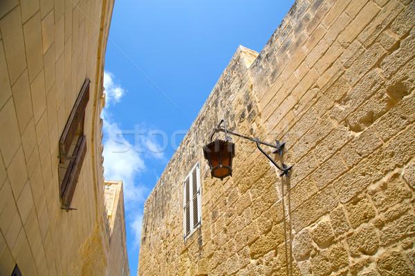 историческая архитектура Мальта южный Европа небе здании Сток-фото © Spectral