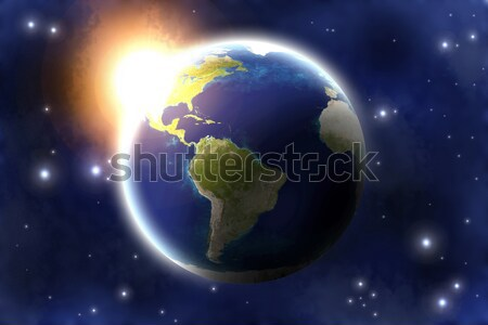 Planet Earth  Stock photo © Spectral