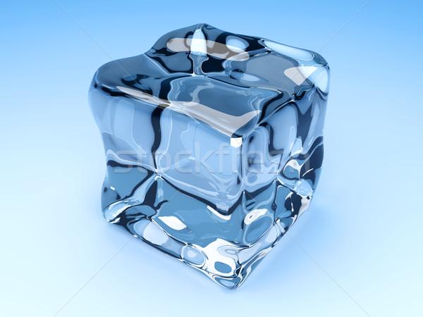 3D оказанный иллюстрация группа воды Сток-фото © Spectral