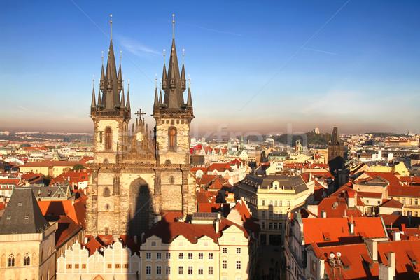 Teyn Church in Prague Stock photo © Spectral