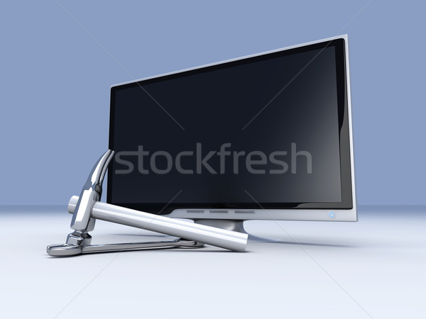 HDTV Tools Stock photo © Spectral