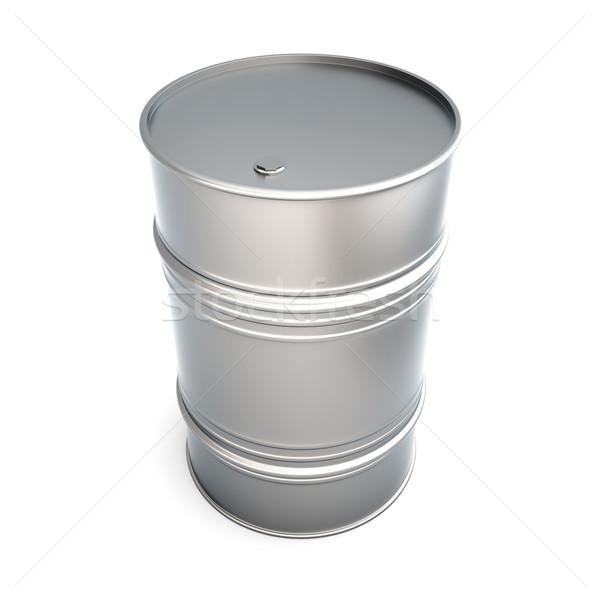 Olie vat 3D gerenderd illustratie geïsoleerd Stockfoto © Spectral
