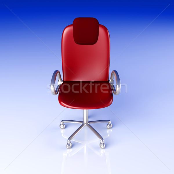 事務椅子 3D レンダリング 雷 椅子 デジタル ストックフォト © Spectral