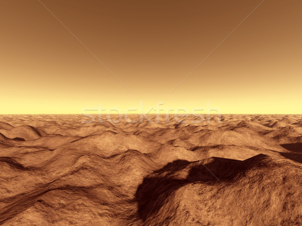 Mars - Over the Mountains Stock photo © Spectral