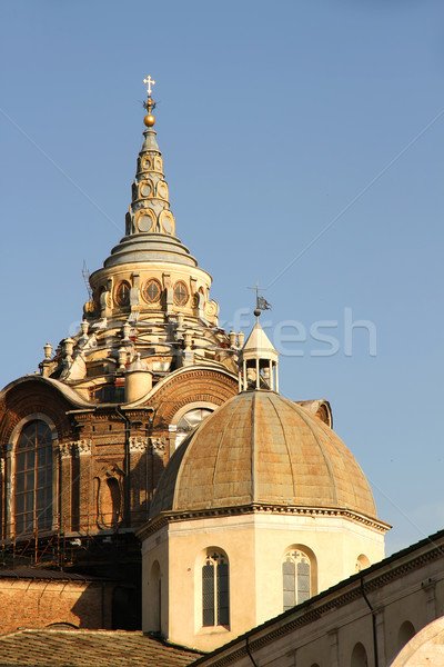 Torino anciens architecture Italie Europe Photo stock © Spectral