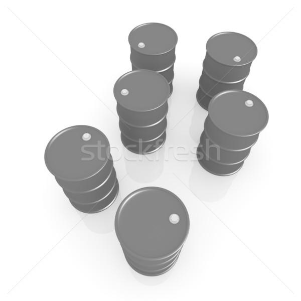 Olie 3D gerenderd illustratie business metaal Stockfoto © Spectral