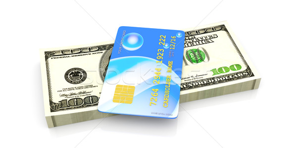 Credit Card and Cash Stock photo © Spectral