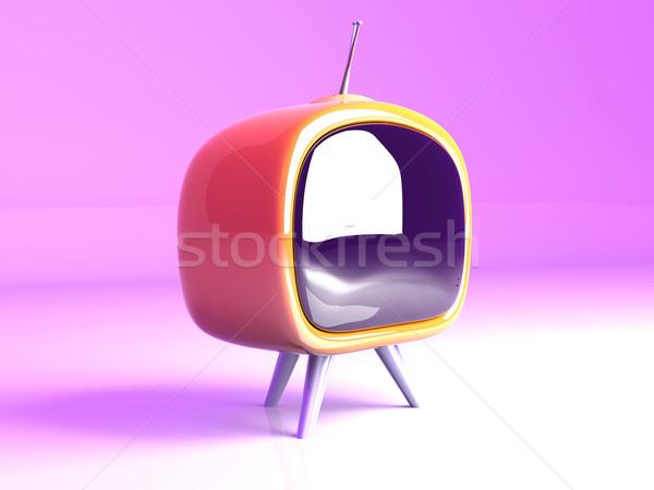 Retro 3D-Darstellung Kitsch Film Video Stock foto © Spectral