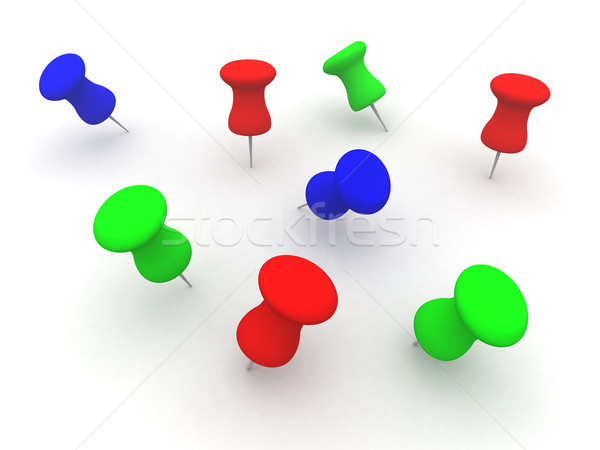 Colored Pins Stock photo © Spectral