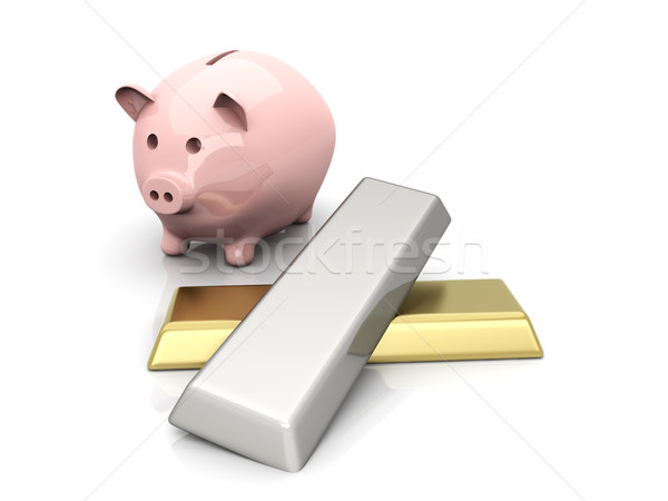 Precious metal savings Stock photo © Spectral