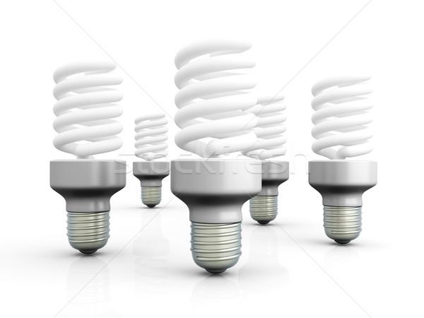 Energy Saver Light Bulbs Stock photo © Spectral