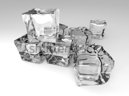 Ice Cubes Stock photo © Spectral