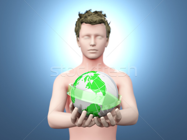 The world in your hands Stock photo © Spectral