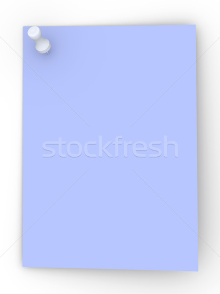 Colored Pinned NotePinned Note Stock photo © Spectral