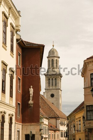 Historic architecture in Sopron	 Stock photo © Spectral