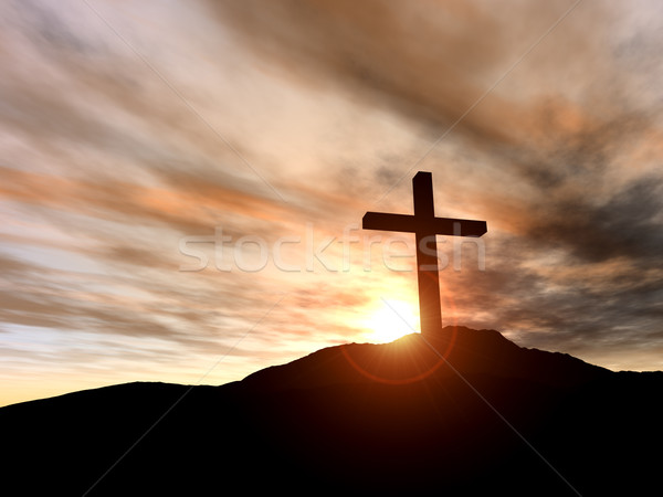 Stock photo: Cross
