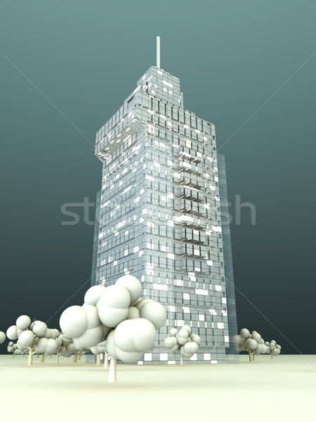 Modern Architecture		 Stock photo © Spectral
