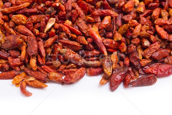 ストックフォト: 唐辛子 · 赤 · ホット · 食品