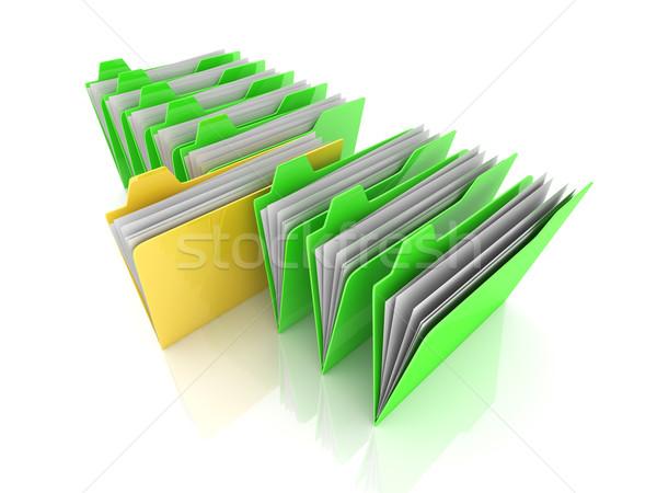 Selected Folder Stock photo © Spectral