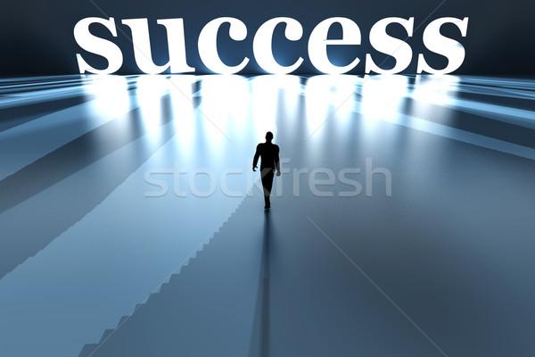 Walking towards Success Stock photo © Spectral