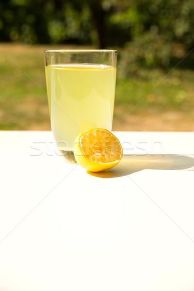Natural Lemonade in the garden Stock photo © Spectral