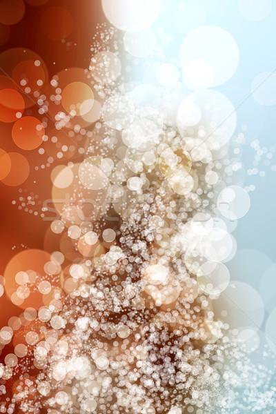 Bokeh dijital dizayn renk karanlık duvar kağıdı Stok fotoğraf © Spectral