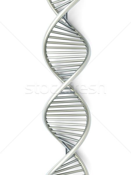 ДНК символический модель 3D оказанный иллюстрация Сток-фото © Spectral