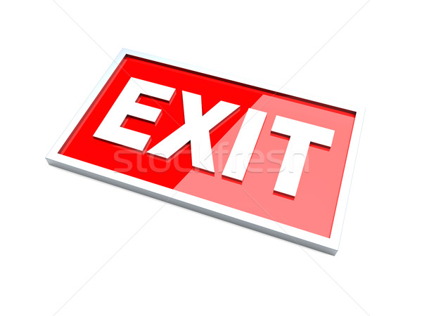 Exit Stock photo © Spectral