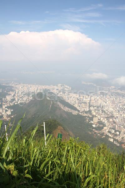 Stok fotoğraf: Görmek · Rio · de · Janeiro · panoramik · Brezilya · güney · amerika · plaj