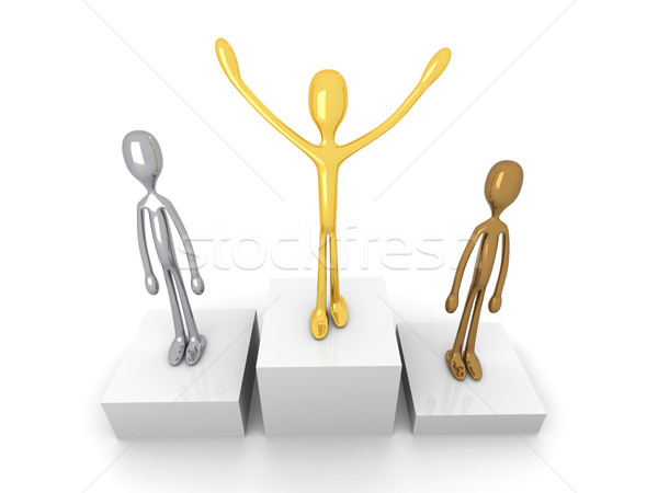 Winners podium Stock photo © Spectral