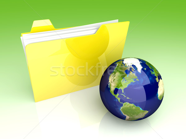 Global Folder - America	 Stock photo © Spectral