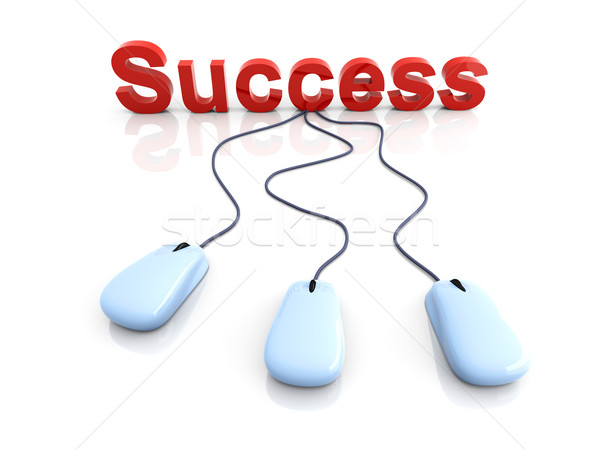 Stock photo: Success