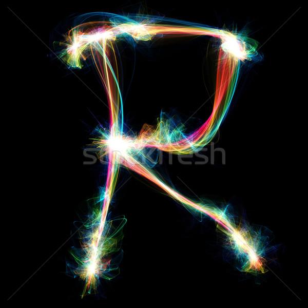 Plasma Letter - R Stock photo © Spectral