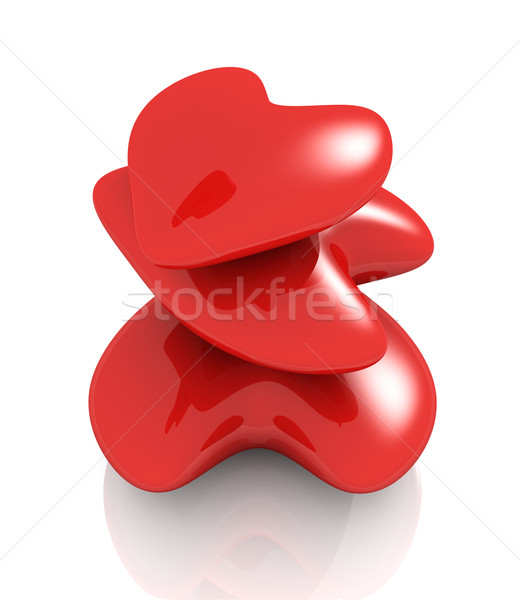 Red Hearts Stock photo © Spectral