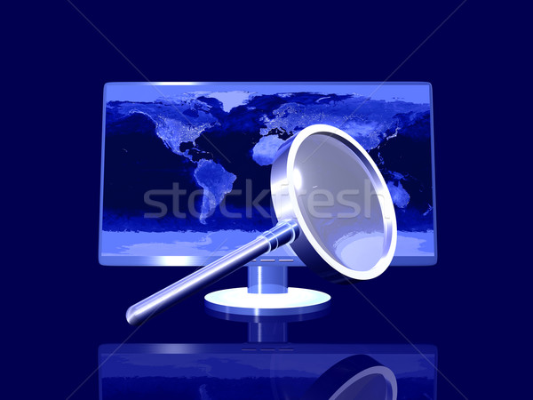 Nightly global Search Stock photo © Spectral