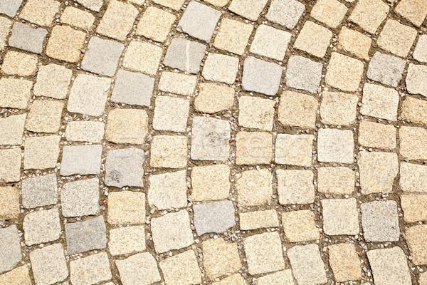 Foto stock: Yeso · piso · piedra · textura · construcción · ladrillo